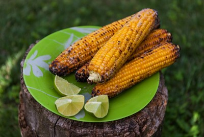 Zesty Grilled Corn