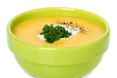 Pumpkin & Corn Soup